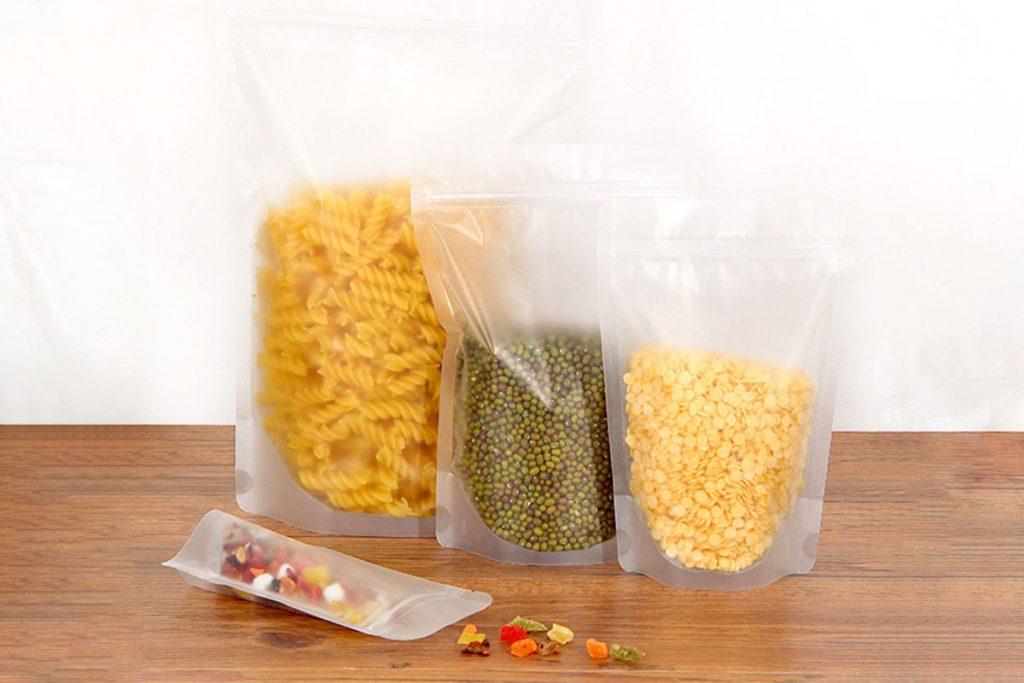Túi 3 biên trong suốt đựng thực phẩm