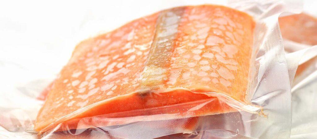 Túi ép 4 biên đựng hải sản