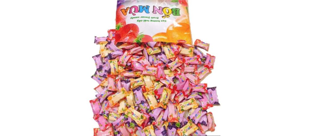 Plastic packaging for candy 2